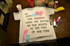 Christmas/Grandparents Day gift for Grandma.