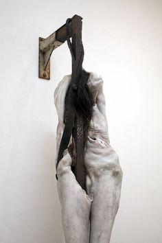 Berlinde de Bruyckere, exhibition in De Pont Tilburg 2012