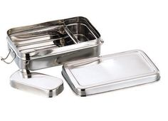 Buy Stainless Steel Rectangular School Lunch box /School Tiffin Box Online at Low Prices in India - Amazon.in