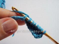 Вязание крючком в стиле энтерлак