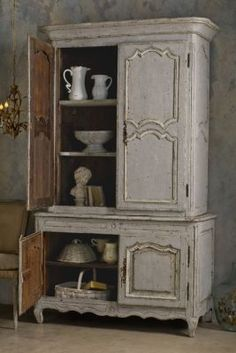 Grand Chambord Deux Pieces Armoire - Antique Armoire, Vintage Armoire, French Armoire | Soft Surroundings