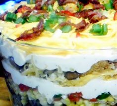 Cornbread Salad...for a Southerner...it tastes just like home. Perfect for Thanksgiving.