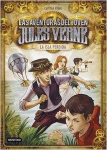 Las aventuras del joven Jules Verne. Alex Ferreiro.