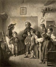 Benjamin Vautier - Admission To School