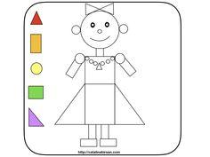 Culori si forme. Holiday Activities, Activities For Kids, Pasta, Blog, Character, Kids Activity Ideas, Preschool, First Grade, Children Activities