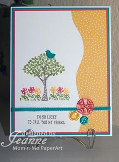 Happy You're My Friend by Penny627 - Cards and Paper Crafts at Splitcoaststampers
