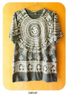 Camiseta Deuses Shiva Mandala Rara CM147