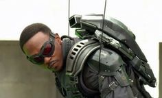 Meet the Falcon In This Winter Soldier Featurette… Or Just Gaze At Anthony Mackie for a Minute And Twelve Seconds [VIDEO]