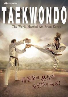Korean TKD KTA Taekwondo Gym image motion Bromide Poster paper Tae Kwon Do 1ea…