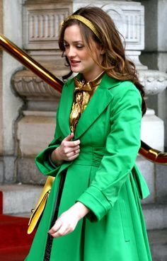 Gossip Girl: Season 2, Episode 5 | Gossip girl outfits ...  |Blair Waldorf Hair Season 2
