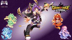 Grand Chase[BR] - Arme Feiticeira ========================= #louzzone #grandchase #game #arme