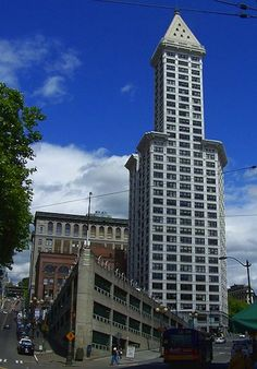Taking in the Views from Smith Tower