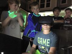 Birthday Party with Evan – Jacksonville's Best Game Truck