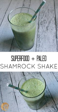 Try my recipe for Superfood + Paleo Shamrock Shake!   1 cup of coconut milk 1 cup of filtered water (I use this filter) 4 or so handfuls of fresh, organic spinach 2 pastured egg yolks 2 tbsp gelatin 1/2 cup mint leaves 1 drop of doTERRA peppermint essential oil (fine here) 2 tbsp raw honey ice - See more at: http://www.ancestral-nutrition.com/superfood-paleo-shamrock-shake/#sthash.FlUIAaJE.dpuf