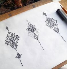 Mandala Tattoo Design # Mandala Tattoo – foot tattoos for women flowers Small Forearm Tattoos, Spine Tattoos, Body Art Tattoos, New Tattoos, Small Tattoos, Sleeve Tattoos, Mandala Tattoo Design, Flower Tattoo Designs, Tattoos For Women Flowers