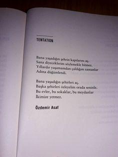 Özdemir Asaf Famous Books, English Literature, Poem Quotes, English Quotes, Some Words, Sentences, Favorite Quotes, Quotations, Lyrics