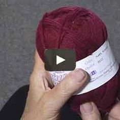 Judy shows how to find the beginning of a new ball of yarn, You buy the ball, you get it home and you can't figure out where the yarn starts. Hand Knitting, Knitting Patterns, What Is Like, Knit Crochet, Amalfi, Don't Forget, Crocheting, Mindfulness, Strands