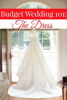 Getting married doesn't have to be a budget buster! In this Budget Wedding 101 post, I'll show you how to save big on one of the most important aspects of your ceremony. The dress! frugal wedding Ideas #frugal #wedding