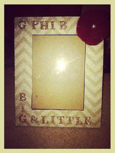 sorority crafts big/little