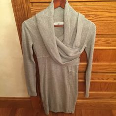 NWOT Athleta sweater dress Gorgeous warm sweater dress. Perfect with legging and boots. NO trades Athleta Dresses