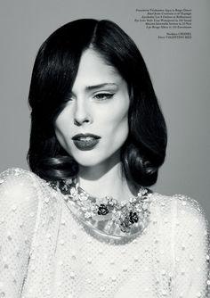 """Untitled"" | Model: Coco Rocha, Photographer: Jason Hetherington, Glass Magazine, Spring 2013"