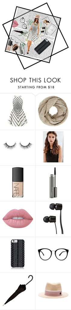 """""""The Dress"""" by rko1234 ❤ liked on Polyvore featuring Halston Heritage, John Lewis, REGALROSE, NARS Cosmetics, MAC Cosmetics, Lime Crime, Vans, Savannah Hayes and Maison Michel"""