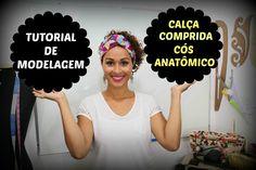 Calça Comprida e Cós Anatômico - MODELAGEM PLANA  ESSA MODELAGEM TA COMPLETA= ATE BOLSOS, PALINHA TRASEIRA= TUDO!