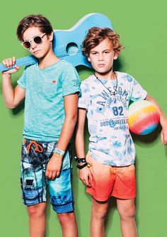 Spring Summer 2016 collection by Indian Blue Jeans Baby Boy Fashion, Kids Fashion, Kids Clothing Brands List, Clothing Stores, Summer Boy, Summer 2016, Spring Summer, Indian Blue, Kids Studio
