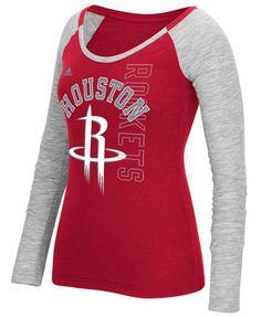 adidas Women s Houston Rockets Liquid Dots T-Shirt Men - Sports Fan Shop By  Lids - Macy s. Nba Los AngelesLos Angeles ClippersHouston ... c59a9a135908