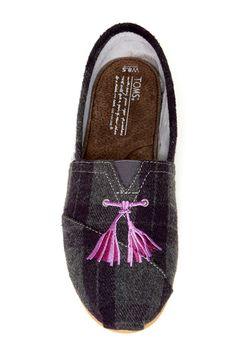 Tartan Classic Slip-On Shoe by TOMS
