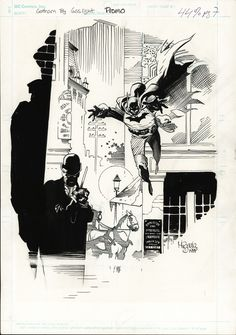 Gotham by Gaslight Promo Comic Art