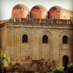 #Chiesa di #San #Cataldo , #Piazza #Bellini ,  a notable example of the #Arabian - #Norman #architecture which flourished in Sicily under the Norman domination of the island.  - #Palermo , #Sicily    http://flic.kr/p/fw7Cvd