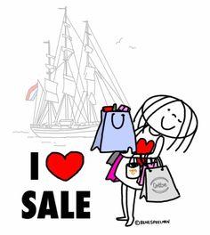 """""""I ❤️ SALE"""" (Sail) - Jabbertje"""