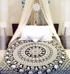 buy black and white dorm room tapestry college room wall decor poster Elephant Tapestry, Room, Dorm Room Tapestry, Hippie Bedding, Bed Covers, Room Wall Decor, Home Decor, White Dorm Room, Bedding Sets