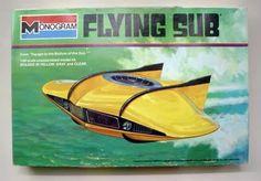 Monogram - Flying sub model kit