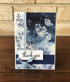 Love What You Do Meets Feel Like Frost by NarelleFasulo - Cards and Paper Crafts at Splitcoaststampers Christmas Thank You, Simple Christmas Cards, Xmas Cards, Christmas 2019, Stampin Up Anleitung, Winter Karten, Simply Stamps, Snowflake Cards, Get Well Cards