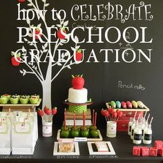 How to Celebrate Preschool Graduation