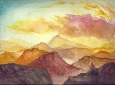 watercolor paintings | Creative Commons Attribution-Noncommercial-No Derivative Works 3.0 ...