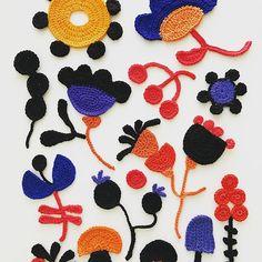 It's on, my sweetest season! #autumn #season #crochet #crocheting #hook #sketching #colours #freeformcrochet #virkkaus #syksy