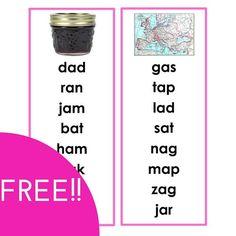 Montessori Pink Series Word Lists
