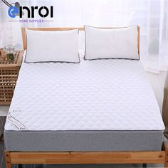 home plans White Quilting Mattress Cover Queen/King Size Quilted Mattress Protector Home Hotel Polyester/Cotton Bed Pad Free shipping *** Shop now for Xmas. Detailed information can be found on  AliExpress.com. Just click the VISIT button. Mattress Covers, Mattress Protector, Bed Pads, King Size Quilt, Cotton Bedding, House Plans, Quilting, Home And Garden, Xmas
