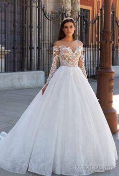 18 Modernos vestidos de noiva estilo princesa - Salve a Noiva
