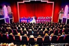 A Movie Theatre Wedding Ceremony at the Village Theatre in Coronado / follow @True Photography Weddings