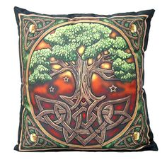 Nemesis 'The Tree of Life' Cushion Artwork by Lisa Parker Wiccan Pagan Mythical   eBay