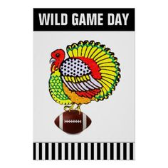 Thanksgiving football poster - thanksgiving day family happy thanksgiving holiday