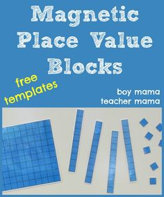 Magnetic Place Value Blocks