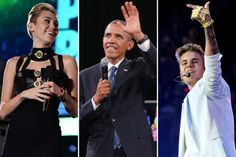 GQ releases 25 least influential people of 2013 list; Miley Cyrus, Justin Bieber and Barack Obama included