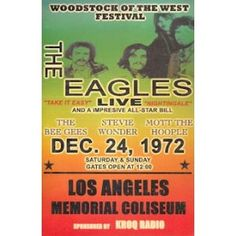The Eagles, saw them many times in NYC...