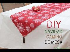 5 caminos de mesa navideños que puedes hacer tú mismo - https://decoracion2.com/5-caminos-de-mesa-navidenos-puedes/ #Caminos_De_Mesa_DIY, #Mesas_De_Navidad, #Textiles_Para_La_Mesa