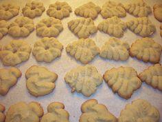 Gluten Free Spritz Christmas Cookies